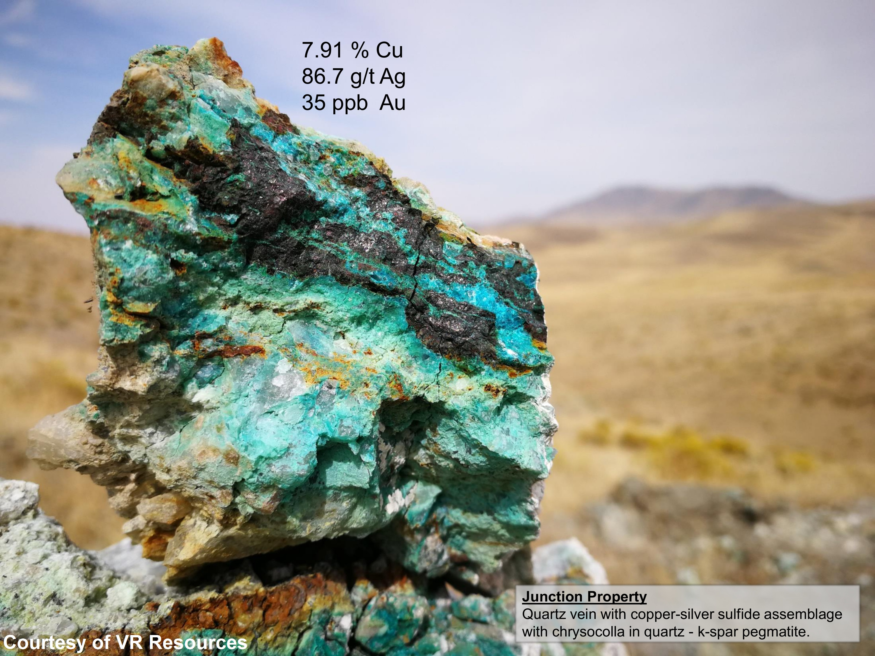 Junction Gold Project Nevada Sunrise Resources Plc