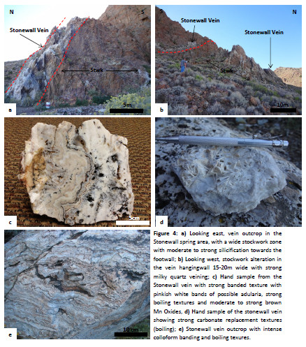 Stonewall outcrops and sample images