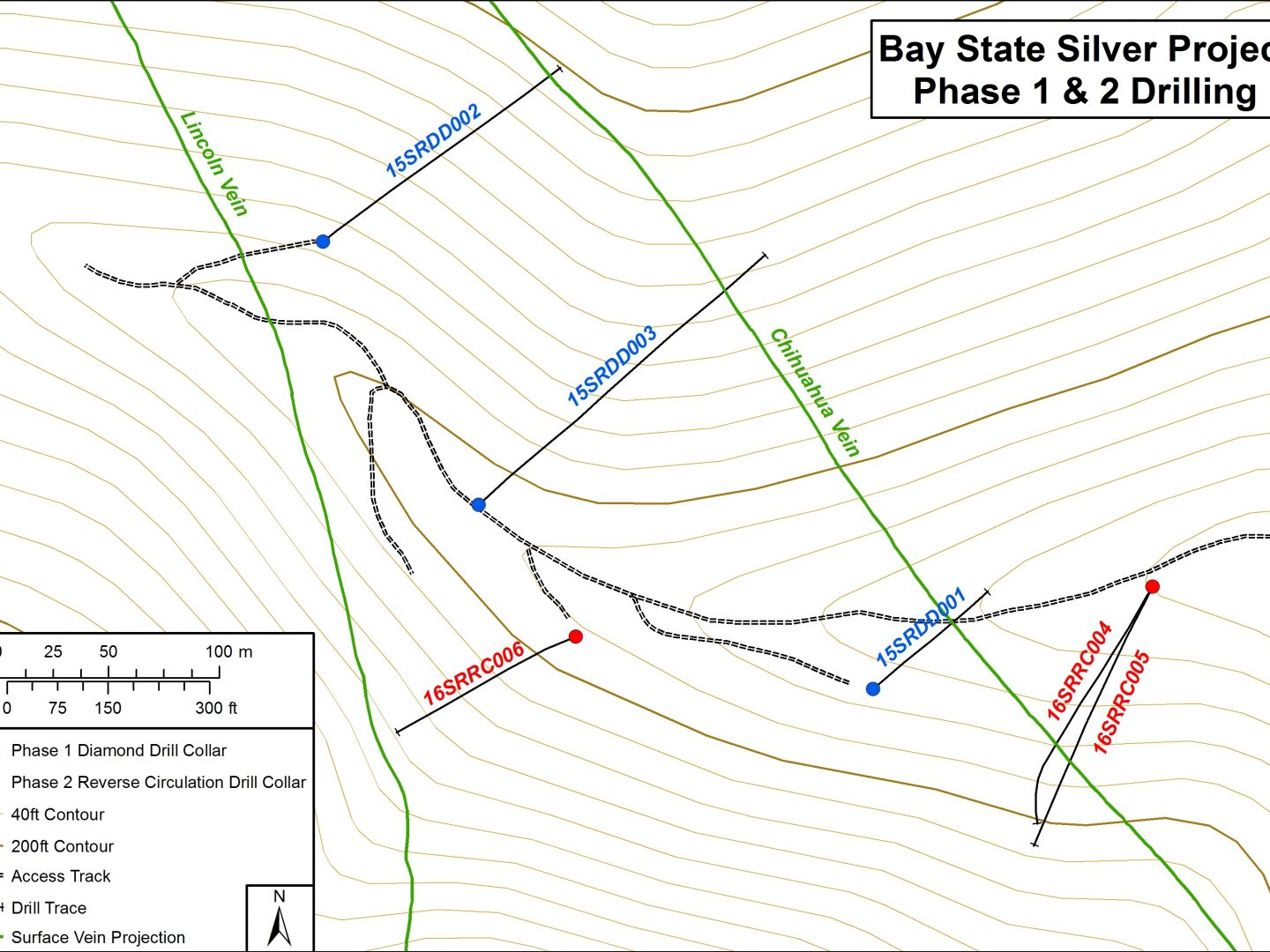 2016 Drill Plan - Bay State Silver Project