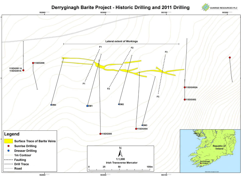 Derryginagh Drill Plan