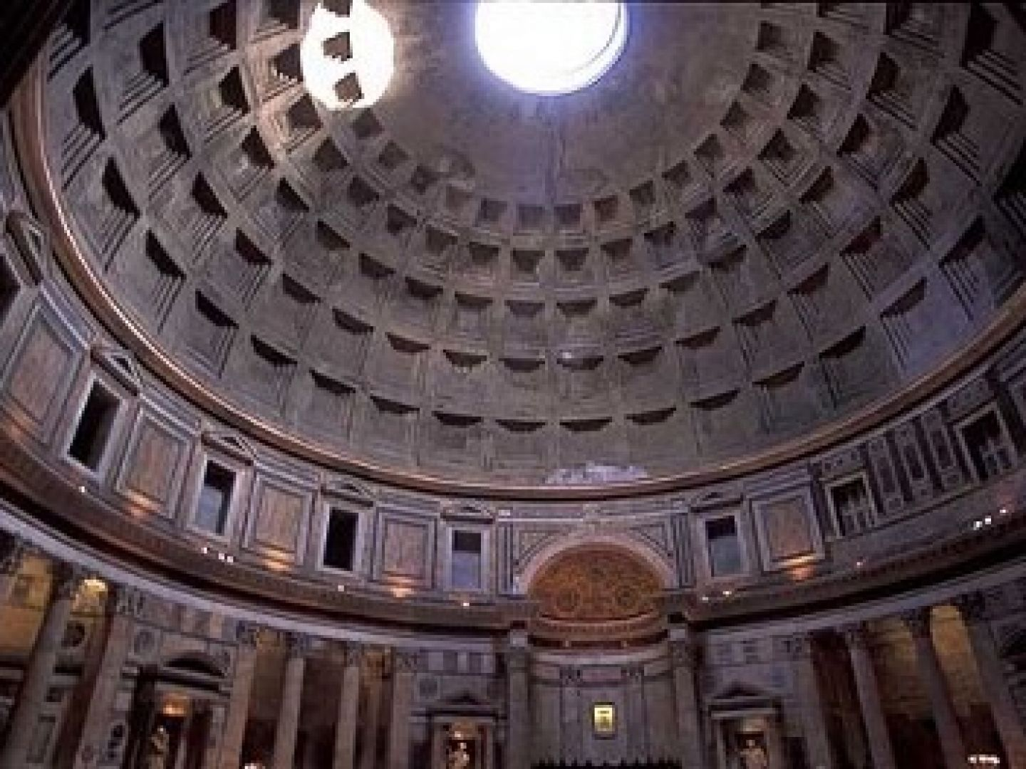 2,000 year old Pantheon Dome, Rome