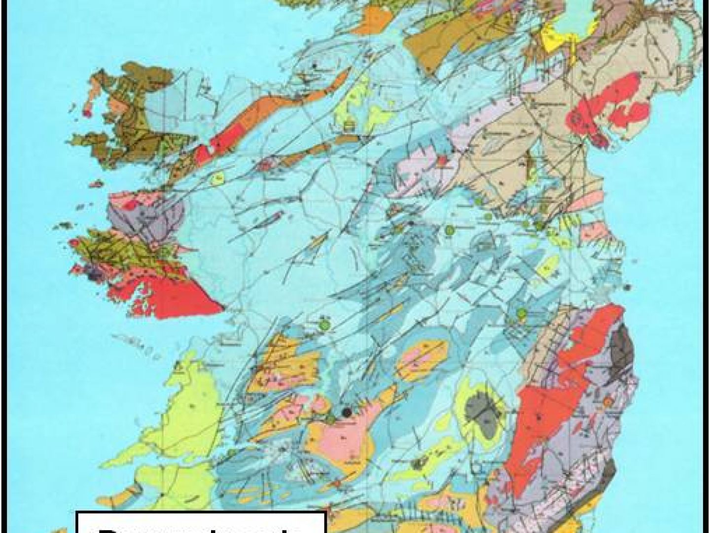 Derryginagh Location Map