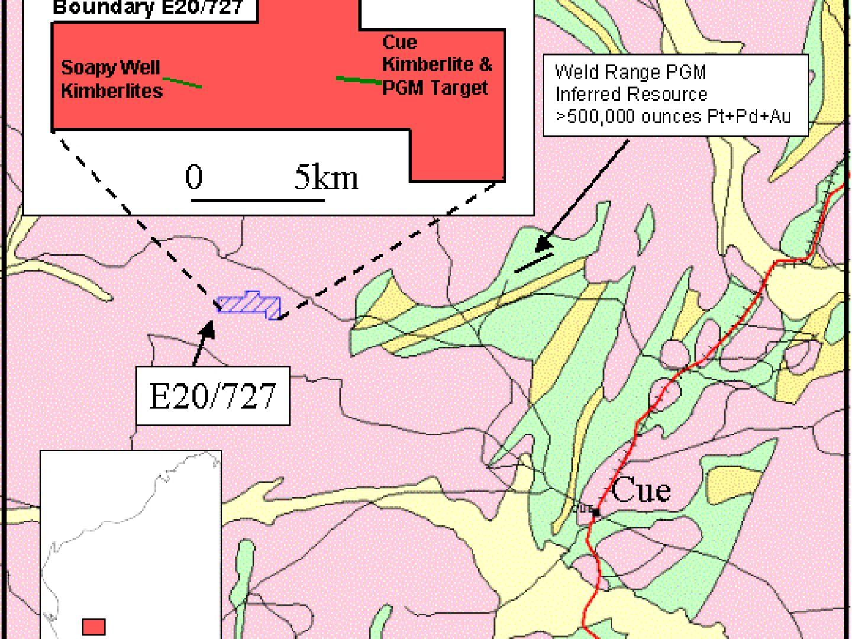 Cue Regional Geology
