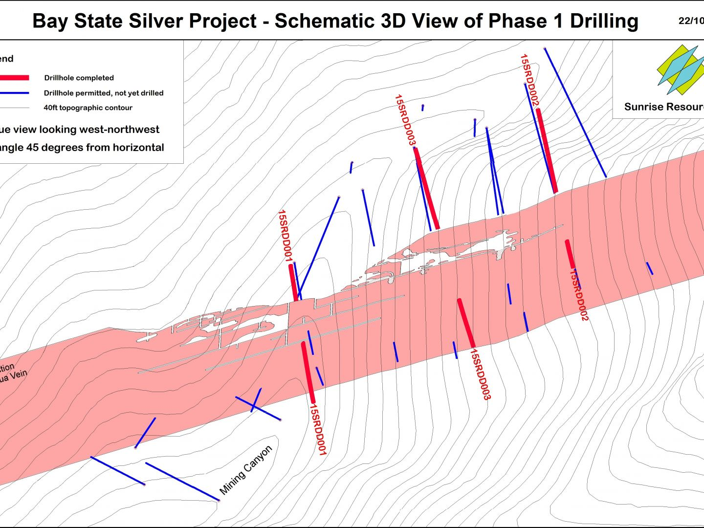 Bay State Schematic - Phase 1 Drilling